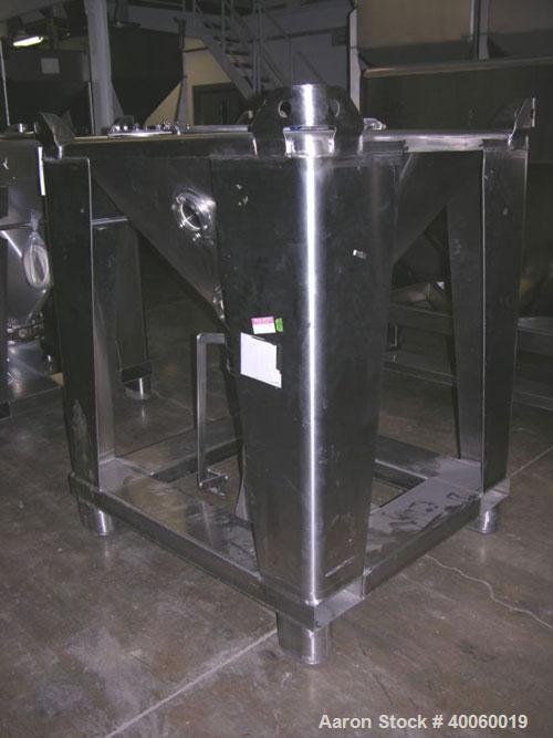 Used- Stainless Steel Tote Systems Tote Bin
