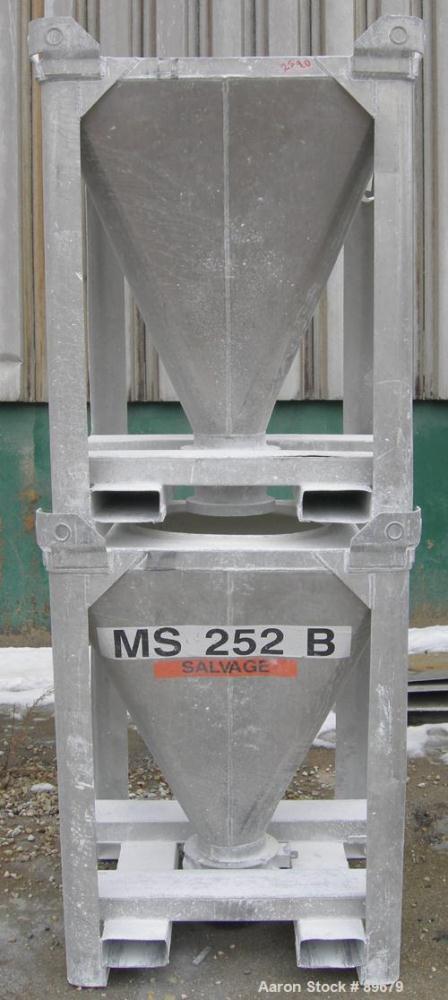 Used- Tote Systems Powder Tote Bin