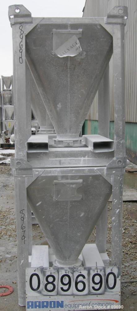 Used- Tote Systems Powder Tote Bin