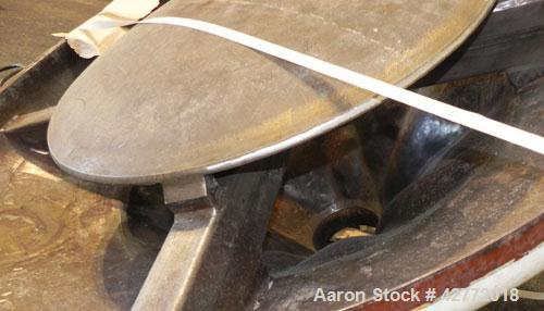 Used- Carbon Steel VibraScrew Bin Activator