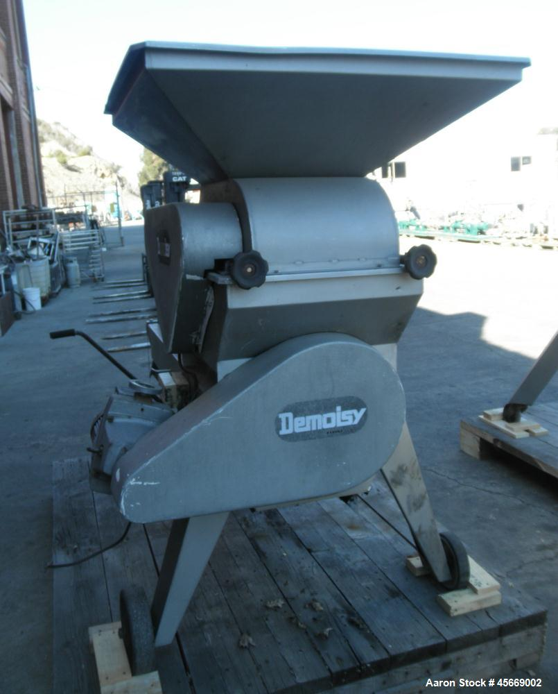 Used- Demoisy Grape Crusher Destemmer