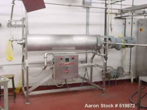 """USED: Cook-Sterilizer """"Sterilchoc FO"""" is an installation for sterilizing in a continuous way the melting of cheese. After co..."""