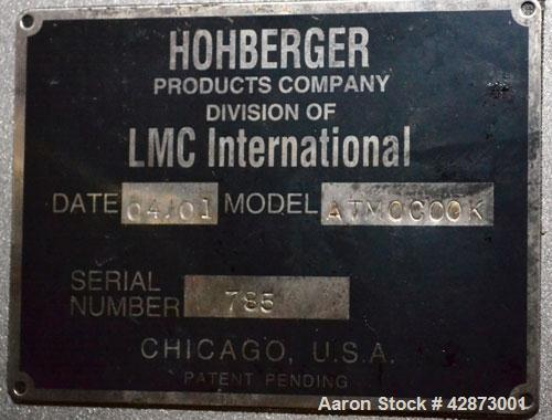 Used- Stainless Steel Latini-Hohberger R&D Cooker System, Model ATOMCOOK