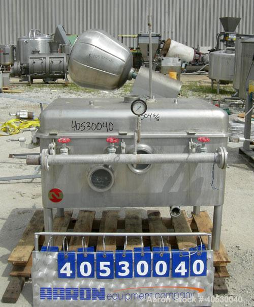 Used- Stainless Steel Nagasawa Continuous Closed Type Cooker, Model NBT-300