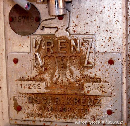 Used- Stainless Steel Oscar Krenz Steam Coil Cooker/Peeler