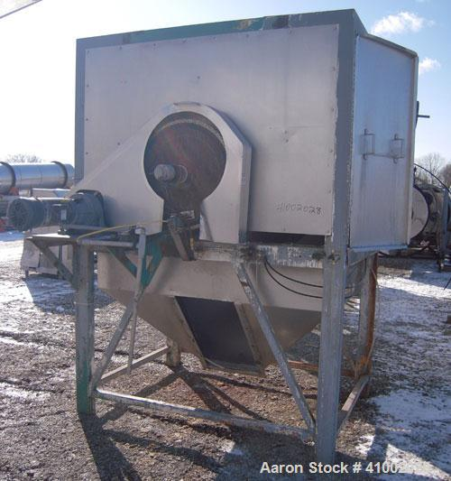 Used- 530 Liter GMF Gouda Rotary Steam Peeler, Model S 100