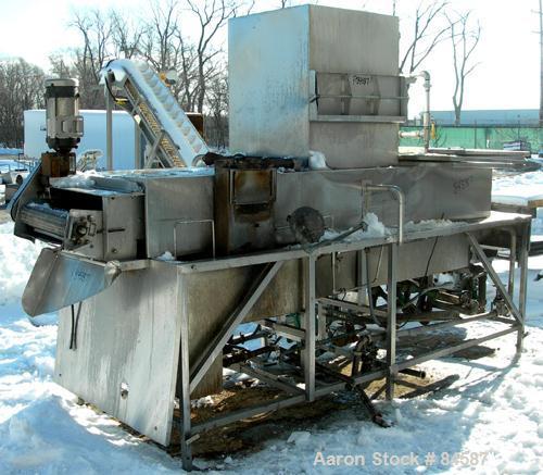 Used- Stainless Steel Peabody Fryer, Model 14SS4812TIHO