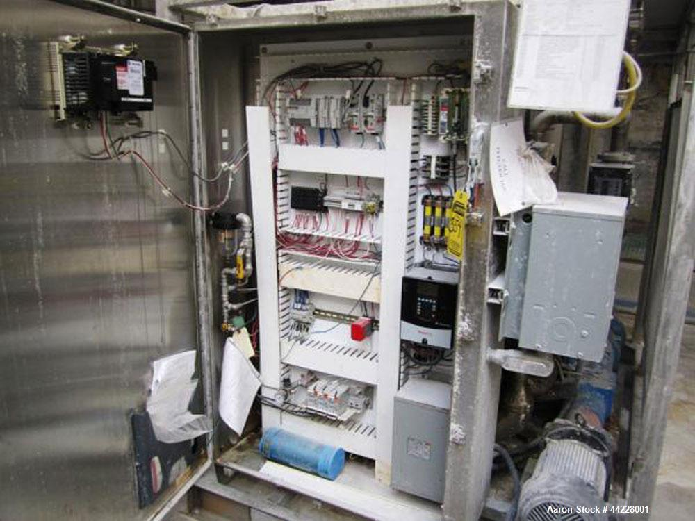Used- Tate & Lyle Starch Cooker, Model REXX103. With Allen-Bradley Micrologix 1200 PLC, Panelview 600, and Powerflex VFD..