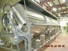 Used- Lyco model 8900 rotary cooker/cooler/pasteurizer for pouches.  6 foot diameter x 32 feet long with 8 foot long steam h...