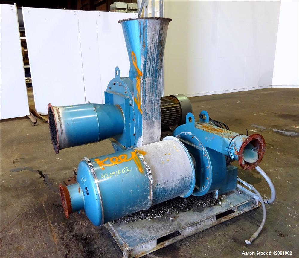 Blower Supercharger For Sale: Used- Blower Skid. Consisting Of (1) 50hp, 3/60/2