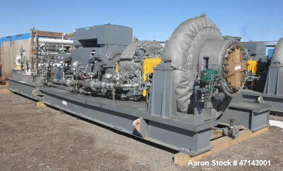 Unused- Dresser/Roots blower Assembly (Skid Mounted) . Consists of: Siemens electric motor, 3000 HP, 1800 RPM, 4160 volt, 68...