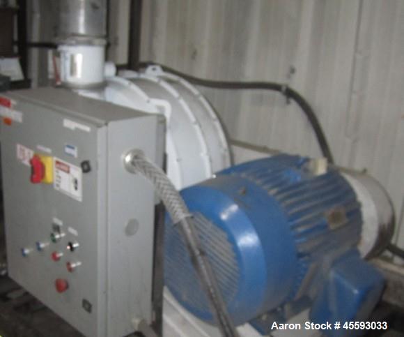 Used- Roots model 711 U-RAI blower, 50 hp, 3/60/575 volts, s/n 0309965410