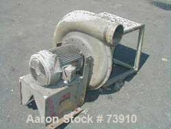 USED:Pressure Blower air ring blower, 10 hp, 230/460 volts, 1755 rpm.