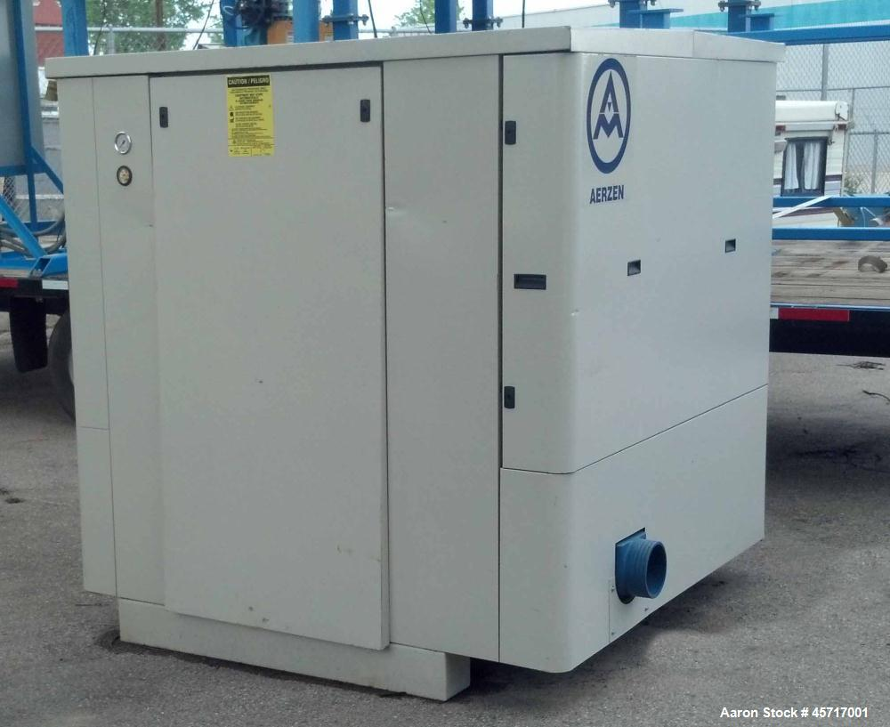 Used- Aerzen Blower, Model GM35S-OO, Positive Pressure Displacement Blower.