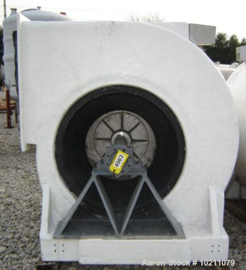 Used- Stainless Steel S. P. Chicago Blower Fan, Model CB 3650 DWDI