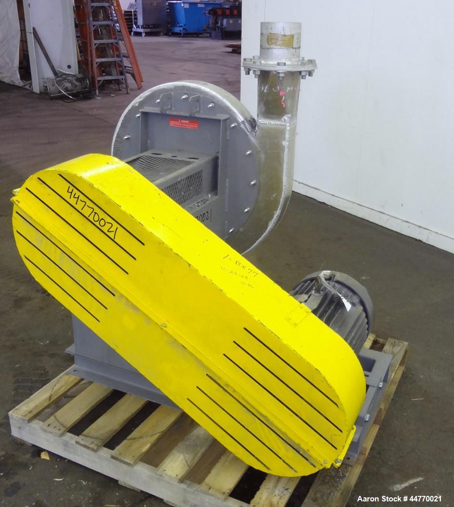 Used- Cincinnati Fan HP Series High Pressure Blower, Model HP-6C22