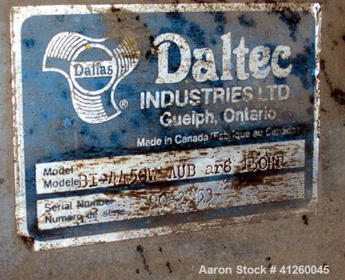 Used-Daltec Industries Blower. 150 hp WEG motor, 208-230/460V, 1785 rpm, 359/179 amps.