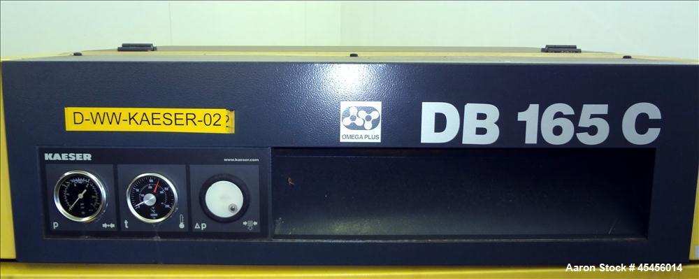 Used- Kaeser Rotary Blower, Model DB-165C