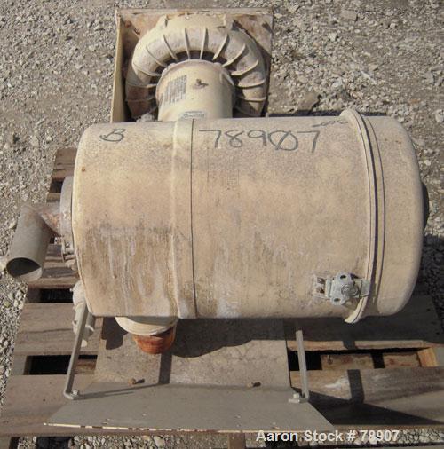 Used- E.G.& G. Rotron Regenerative Blower Package Consisting Of: (1) Ametek blower, model DR707D89MX, cast aluminum, vertica...