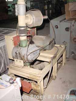 "USED: Gardner Denver Duroflow rotary positive displacement blower,model 4504VT, horizontal. 4"" diameter npt inlet/outlet. Ca..."