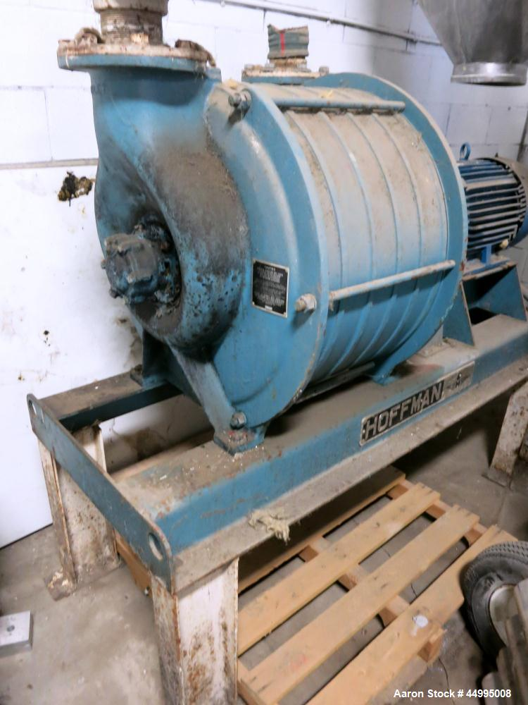 Used- Carbon Steel Hoffman Centrifugal Exhauster, Model 4206A