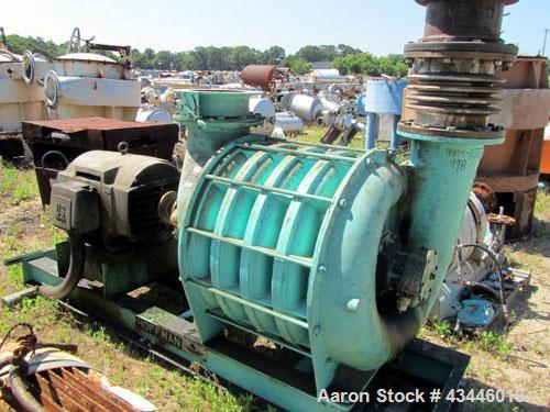 Hoffman Centrifugal Blower : Used hoffman centrifugal blower model a