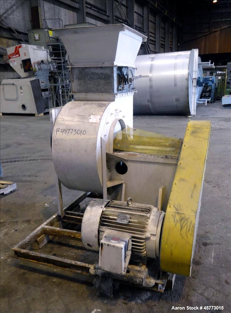 Used- Industrial Air Blower, Model 226D022QVM-CLIII, Approximate 10,000 CFM.