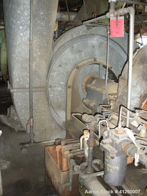 Used-Ingersoll Rand Steam Turbine.   Volume 19,730 CFM, Intake 12.92 Lbs. Abs., Discharge Pressure 14.74, Temp 100 degF, 360...
