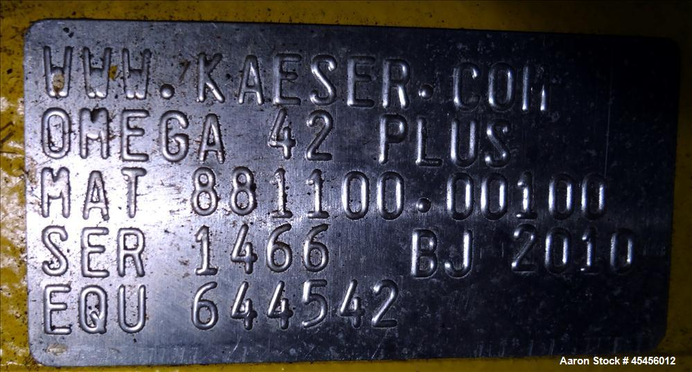 Used- Kaeser Rotary Blower, Model DB-165 C