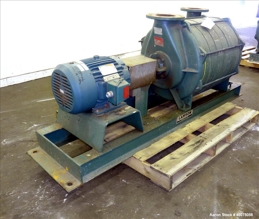 Used- Lamson Multistage Centrifugal Blower