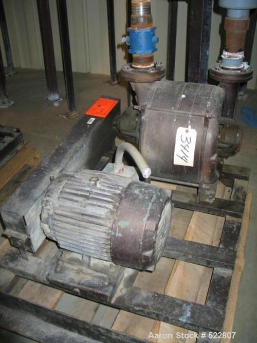 USED: 10 hp Lamson vacuum system consisting of: bag separator, model30X96SEC; cyclone, model 30X72PRI; blower, model 3105-4-...
