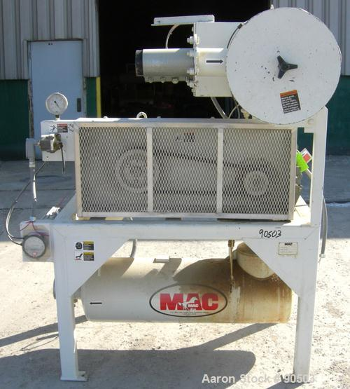 USED: MAC vacuum conveying conveying system, Model 560, consisting of: (1) Roots horizontal positive dispacement blower, ID#...