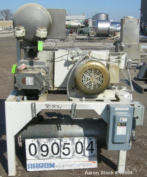 Used: MAC Vacuum Conveying System, model 560, consisting of: (1) Roots horizontal positive dispacement blower, model 409-RAM...