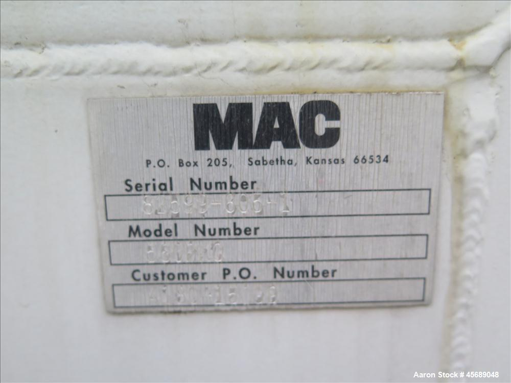 Used-MAC Pellet Conveyor System, Model 66060