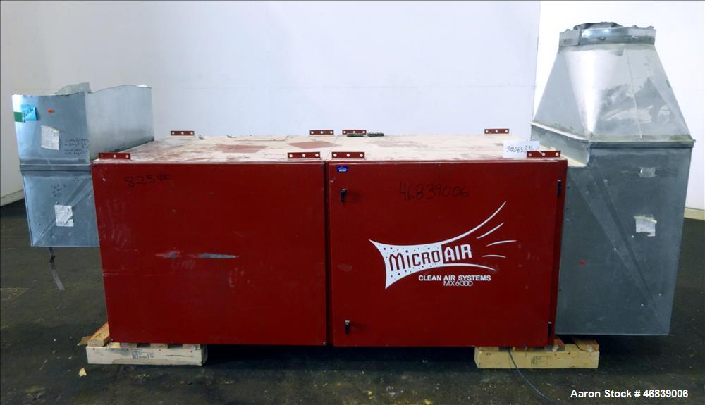 Used- Micro Air Clean Air Systems Air Cleaner, Model MX6000