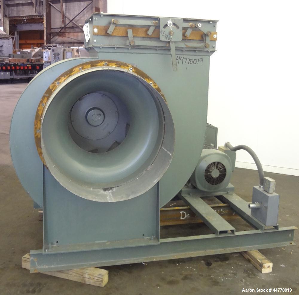 Used- New York Blower General Purpose AcoustaFoil Fan, Size 30 ACF, Description ACF/PLR Fan Class I-III, Carbon Steel. Appro...