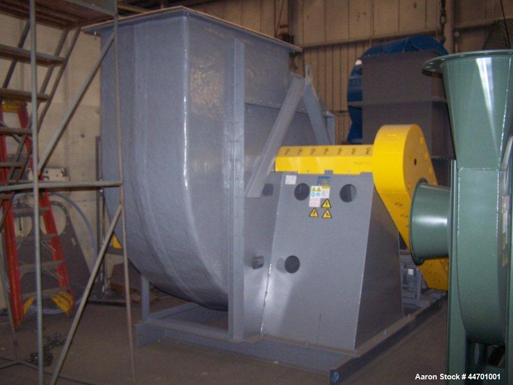 "Unused-New York Blower Model 542.  30,000 CFM, 102"" tall, 90"" wide.  50 Hp Baldor motor, 1800 rpm, 3/60/230/460V.  Has unita..."