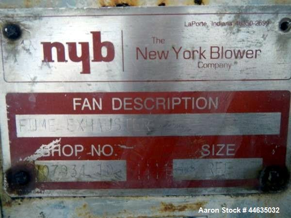Used- New York Blower