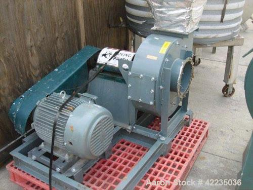 Used- Loren Cook Company Blower, Model number 90MHAH, 90MHA-HD,Tag FN-05-002A 8228 Wyeth GU, Design CFM: 1650, Design SP: 15...
