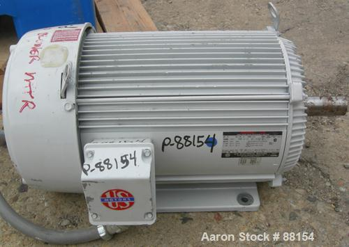 """USED: Roots rotary positive displacement blower, model 68URAI.Approximate capacity 515 cfm at 38.2 bhp at 12 psi. 4"""" NPT inl..."""