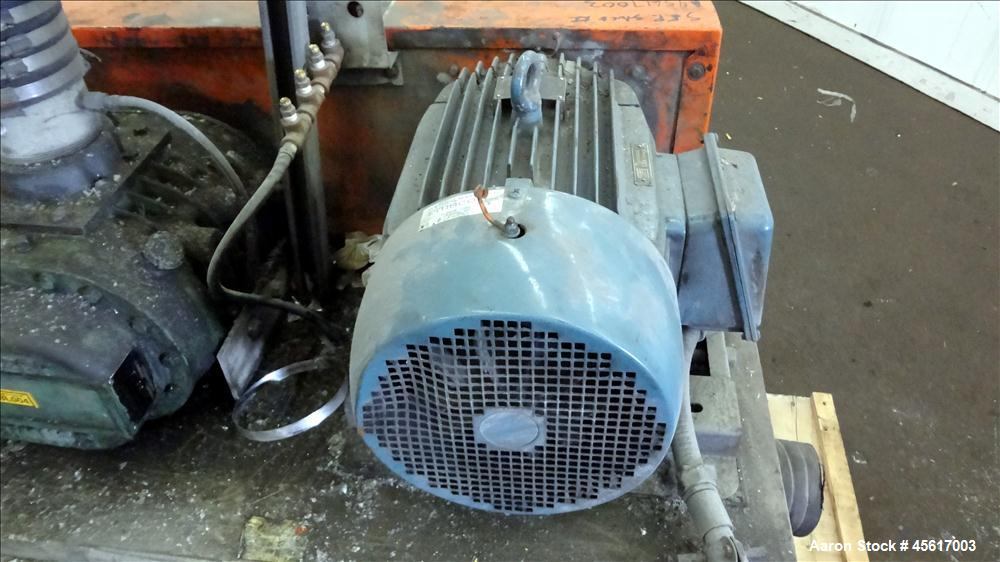 Used- Schwitzer Horizontal Rotary Positive Displacement Blower
