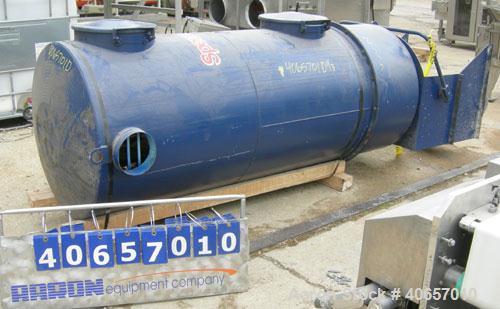 "Used- SpencerTurbineTubularBag Separator, model TD-736 AA, carbon steel. (22) 6"" diameter x 5'3"" long bags providing 179 ..."