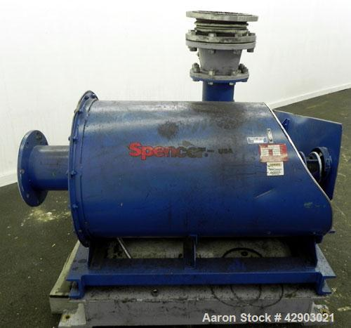 Used- Carbon Steel Spencer Turbine Blower, Model S 24206D-BD