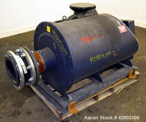 Used- Carbon Steel Spencer Turbine Centrifugal Blower, Model S242060-BD