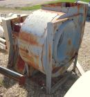 Used- Bayley Centrifugal Blower, Size BC270, Arrangement 9ZL, Carbon Steel. Approximate 27