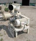 USED: Boedecker Co blower package consisting of (1) Sutorbilt rotary positive displacement blower, model 6LP, horizontal. 6