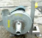 USED: Cincinnati fan pressure blower, model PB-18, cast aluminum. Approximate 1260 cfm at 8