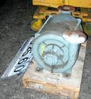 USED: Gardner Denver multi stage centrifugal blower/exhauster, model 3108-0-8-AB, carbon steel. 3