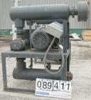 USED: Gardner Denver Duroflow rotary positive displacement blower,model 4512, horizontl. 6