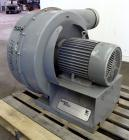 Used-Gardner Denver Lamson Blower, Carbon Steel. Driven by 20 hp, 3/60/230/460 volt, 3510 rpm motor.  8